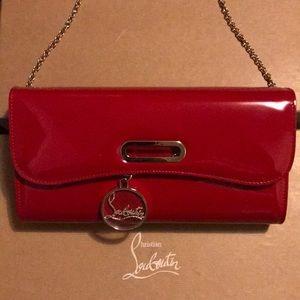 Christian Louboutin red purse